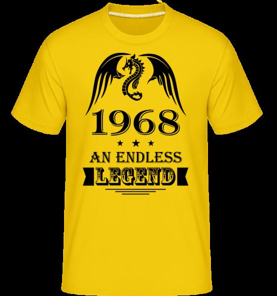 Endless Legend 1968 -  Shirtinator Men's T-Shirt - Golden yellow - Vorn