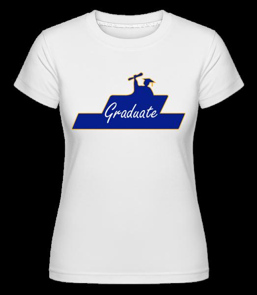 Graduate - Shirtinator Women's T-Shirt - White - Vorn