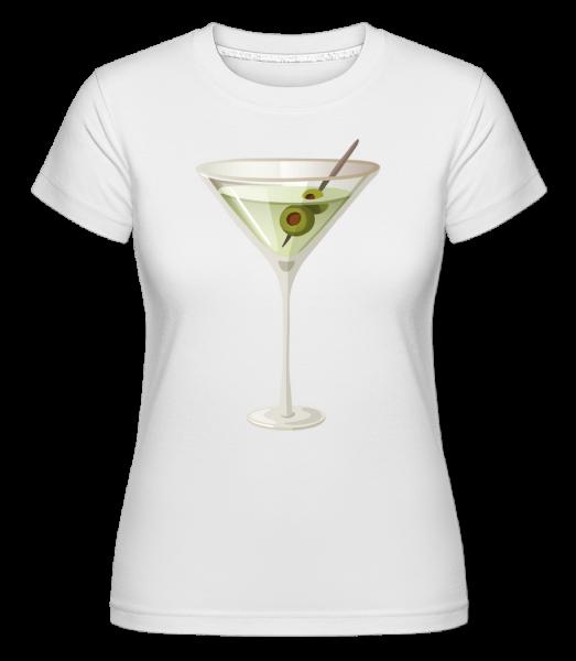 Cocktail -  Shirtinator Women's T-Shirt - White - Vorn
