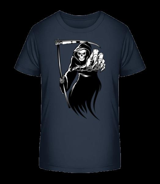 The Death - Kid's Premium Bio T-Shirt - Navy - Vorn