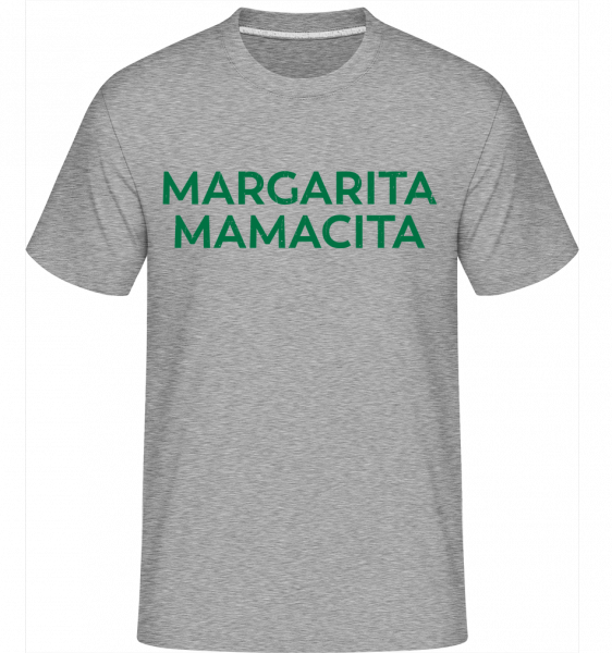 Margarita Mamacita -  Shirtinator Men's T-Shirt - Heather grey - Vorn