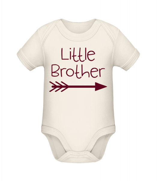 Little Brother - Organic Baby Body - 12-18 month - Vorn