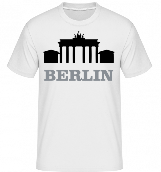 Berlin Skyline -  Shirtinator Men's T-Shirt - White - Vorn
