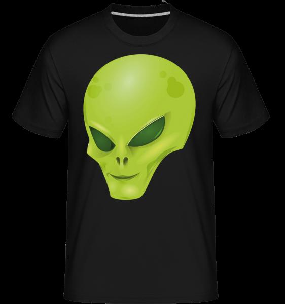 Alien Head -  Shirtinator Men's T-Shirt - Black - Vorn