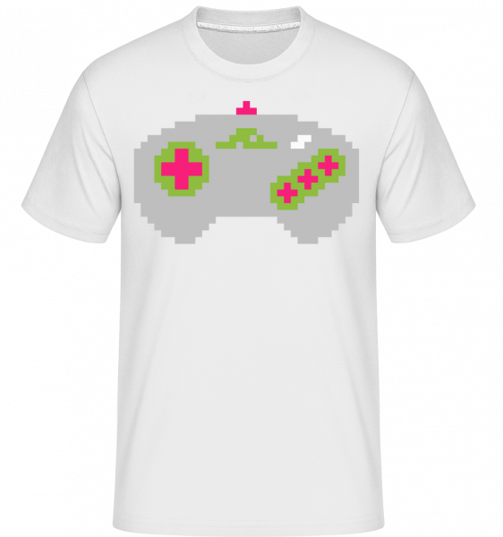 Consoles Controller Oldschool - Shirtinator Men's T-Shirt - White - Vorn