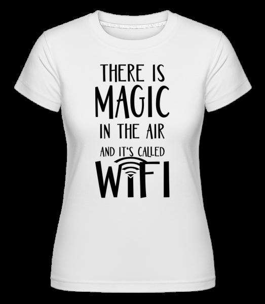 Magic In The Air - Shirtinator Women's T-Shirt - White - Vorn
