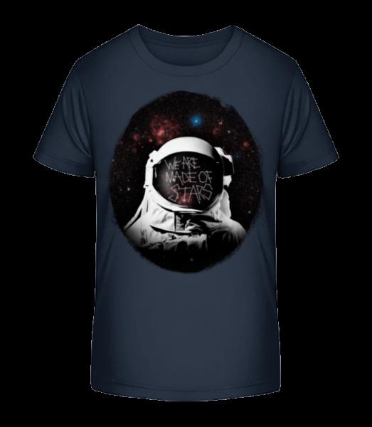We Are Made Of Stars - Kid's Premium Bio T-Shirt - Navy - Vorn