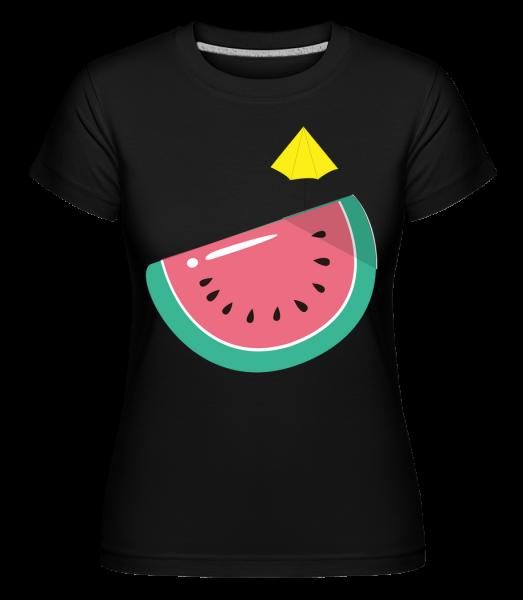 Sun Melon - Shirtinator Women's T-Shirt - Black - Vorn
