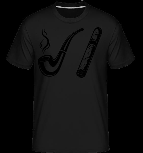 Pipe And Cigars -  Shirtinator Men's T-Shirt - Black - Vorn