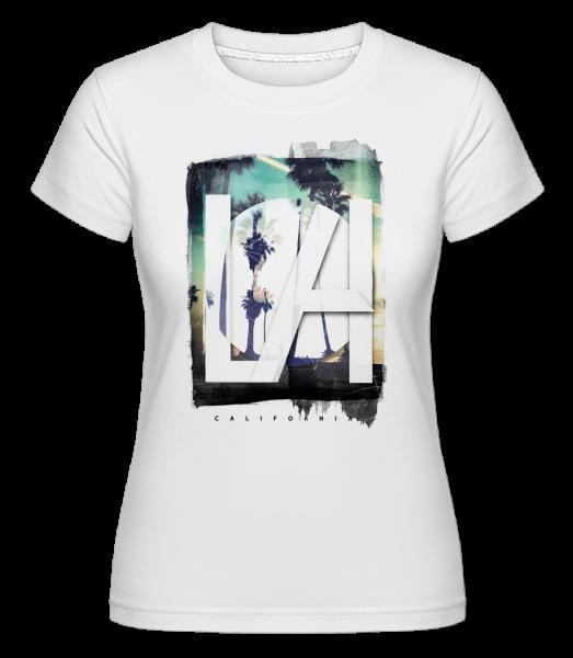 LA - Shirtinator Women's T-Shirt - White - Vorn