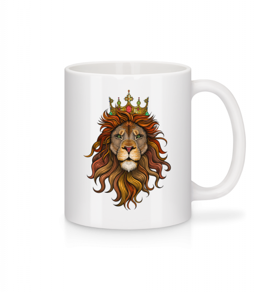 Lion King - Mug - White - Vorn