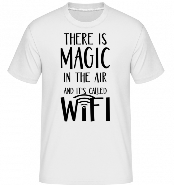 Magic In The Air -  Shirtinator Men's T-Shirt - White - Vorn