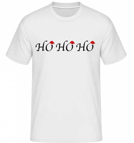 Ho Ho Ho - Shirtinator Men's T-Shirt - White - Vorn