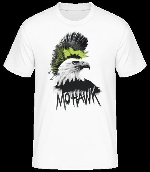 Mohawk - Men's Basic T-Shirt - White - Vorn