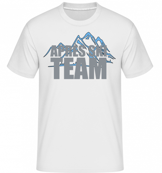 Team Après Ski - Shirtinator Men's T-Shirt - White - Vorn