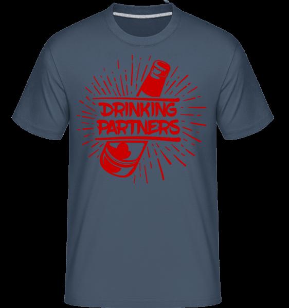 Drinking Partners - Shirtinator Men's T-Shirt - Denim - Vorn