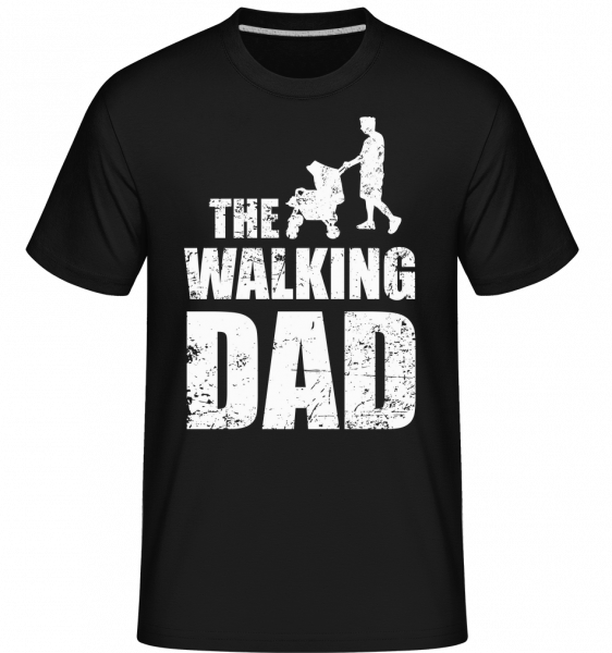 The Walking Dad -  Shirtinator Men's T-Shirt - Black - Vorn