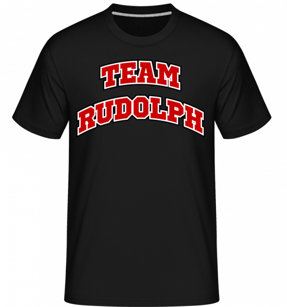 Team Rudolph -  Shirtinator Men's T-Shirt - Black - Vorn