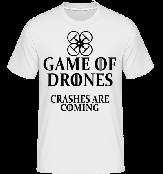 Game Of Drones -  Shirtinator Men's T-Shirt - White - Vorn