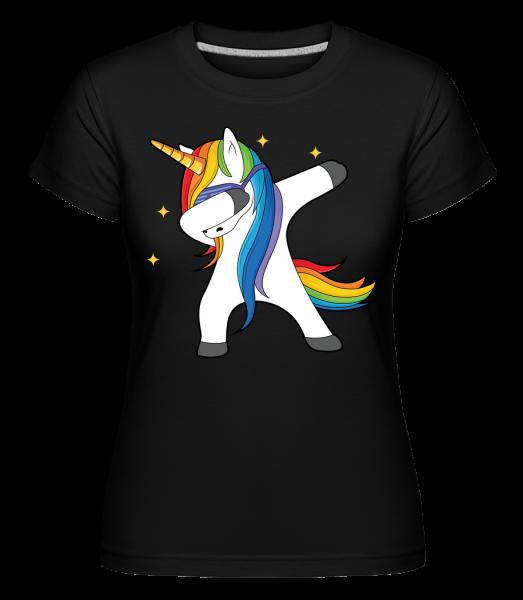 Party Einhorn - Shirtinator Women's T-Shirt - Black - Vorn
