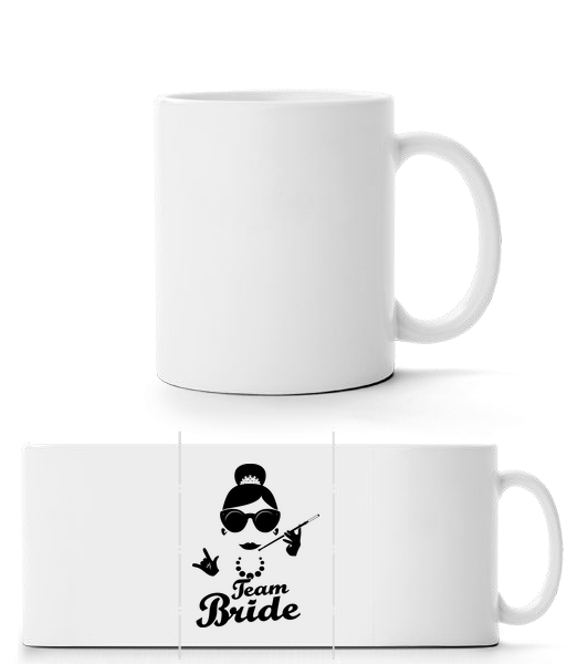 Team Bride - Panorama Mug - White - Vorn