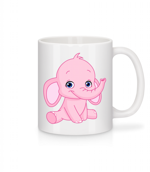 Elephant Comic - Mug - White - Vorn