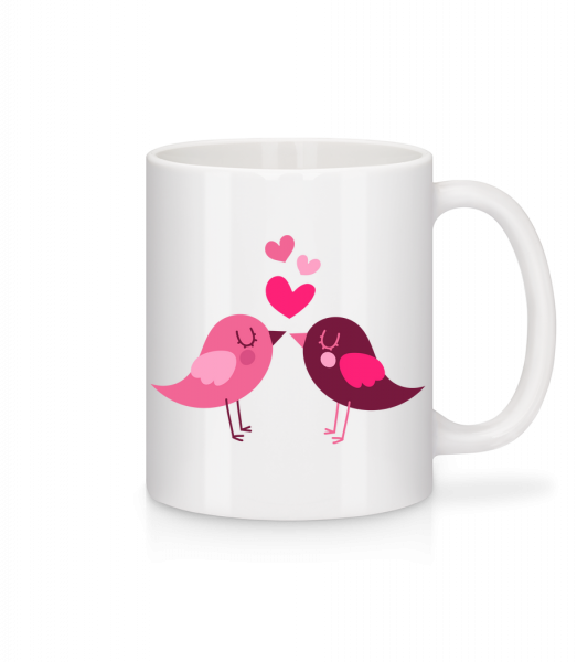 Birds Love - Mug - White - Vorn