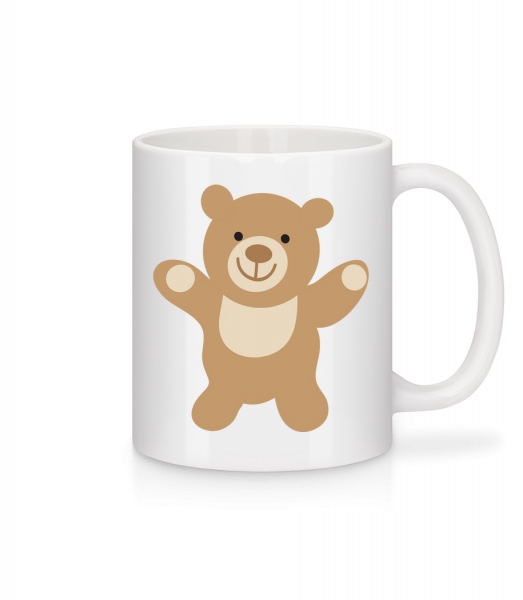 Kids Comic - Bear - Mug - White - Vorn