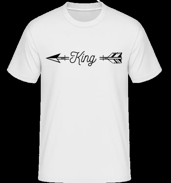 King Arrow -  Shirtinator Men's T-Shirt - White - Vorn
