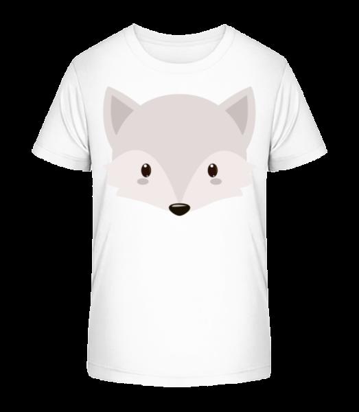Fox Comic - Kid's Premium Bio T-Shirt - White - Vorn