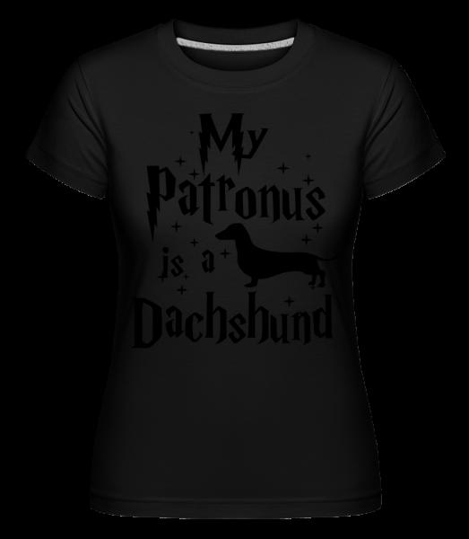 My Patronus Is A Dachshund - Shirtinator Women's T-Shirt - Black - Vorn