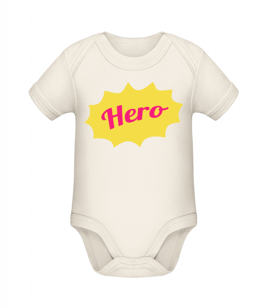 Hero Icon - Organic Baby Body - 12-18 month - Vorn