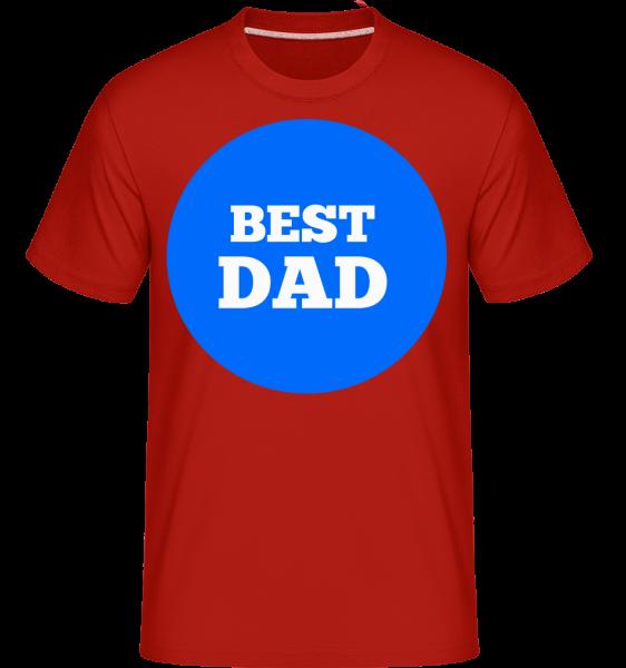 Best Dad -  Shirtinator Men's T-Shirt - Red - Vorn