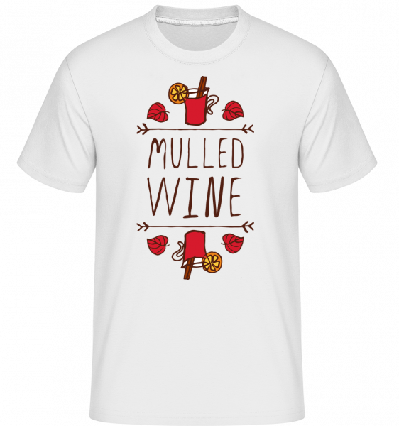 Mulled Wine Sign -  Shirtinator Men's T-Shirt - White - Vorn