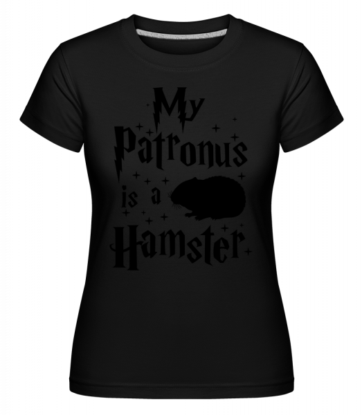 My Patronus Is A Hamster - Shirtinator Women's T-Shirt - Black - Vorn