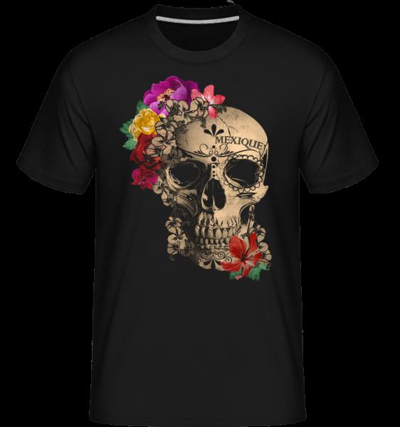 Skull Mexico - Shirtinator Men's T-Shirt - Black - Vorn