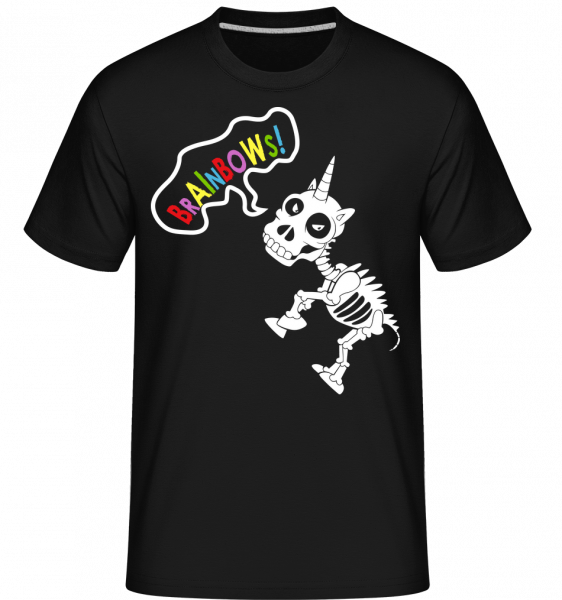 Dead Unicorn Rainbows - Shirtinator Men's T-Shirt - Black - Vorn