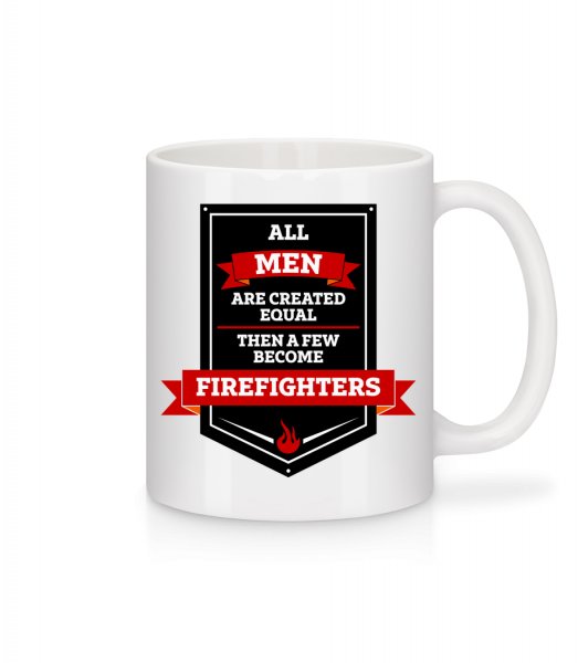 Best Men Are Firefighters - Mug - White - Vorn