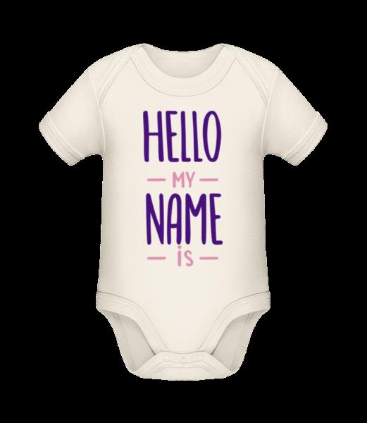 Hello My Name Is - Organic Baby Body - Cream - Vorn