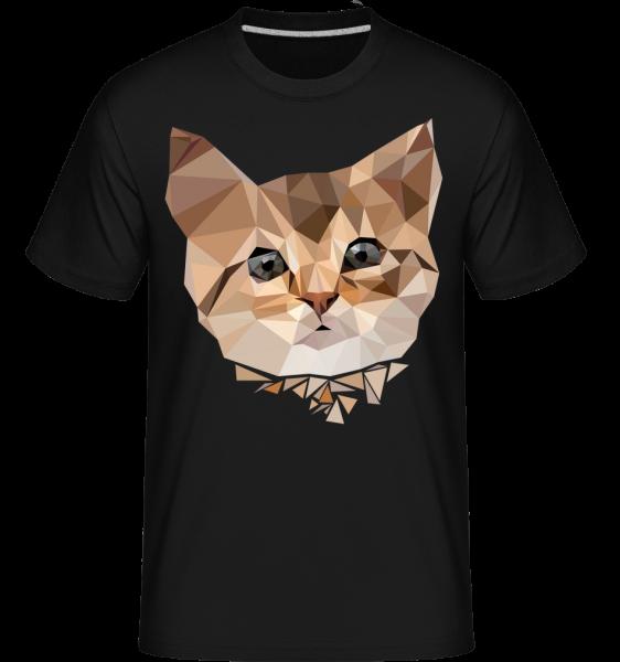 Polygon Cat - Shirtinator Men's T-Shirt - Black - Vorn