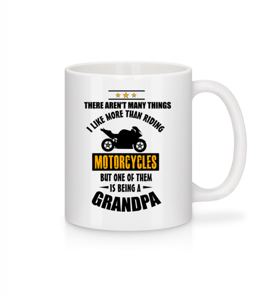 Biking Grandfather - Mug - White - Vorn
