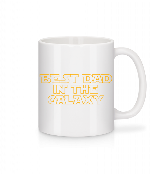 Best Dad In The Galaxy - Mug - White - Vorn