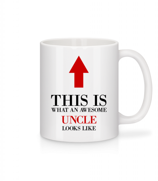 Awesome Uncle - Mug - White - Vorn