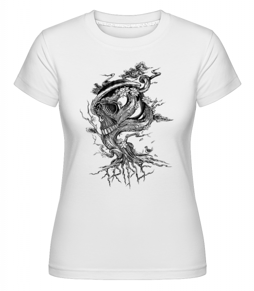 Tree of Death - Shirtinator Women's T-Shirt - White - Vorn