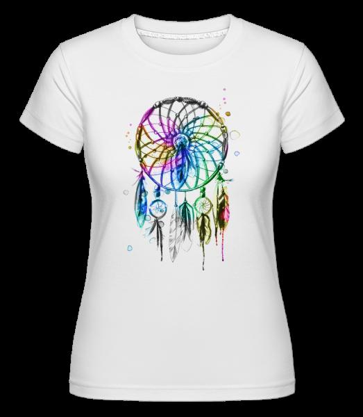Mystical Dream Catcher -  Shirtinator Women's T-Shirt - White - Vorn