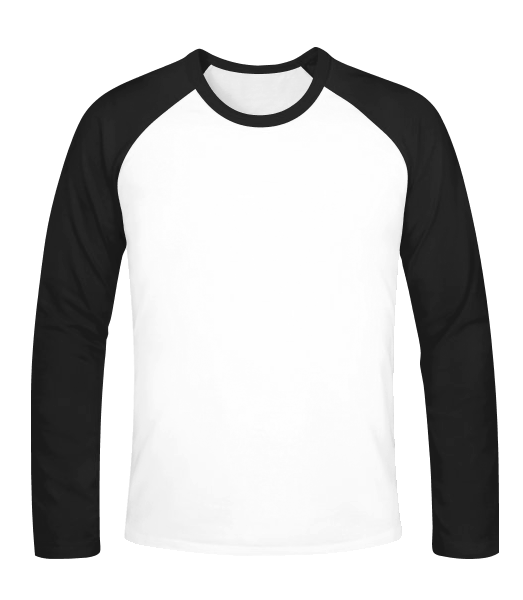 Baseball long sleeve - White - Vorn