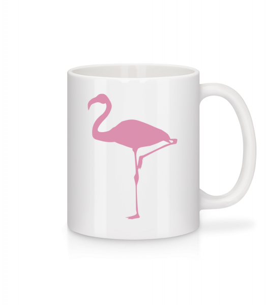 Flamingo - Mug - White - Vorn