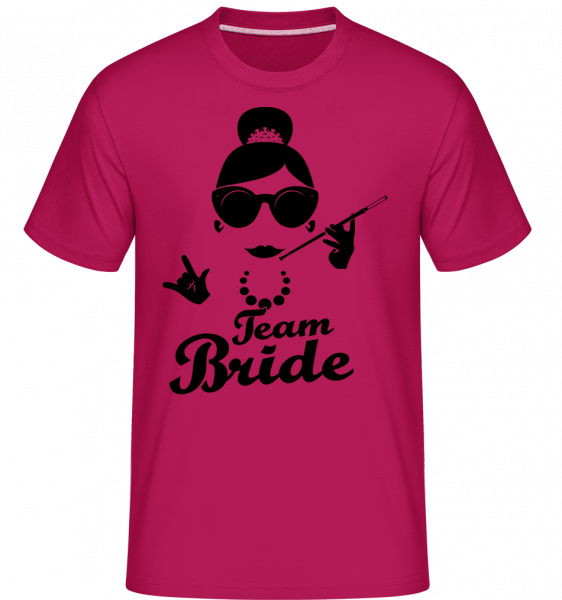 Team Bride -  Shirtinator Men's T-Shirt - Magenta - Vorn