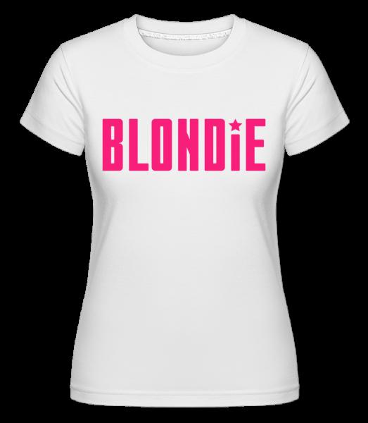 Blondie -  Shirtinator Women's T-Shirt - White - Vorn