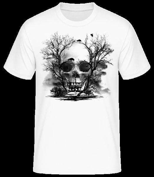 Death Trees - Men's Basic T-Shirt - White - Vorn